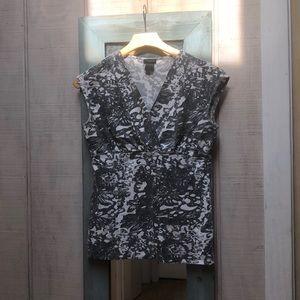 Ann Taylor Faux Wrap Shirt